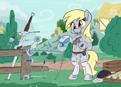 ATG VI - Day 4 - Fencing (Collab with Discorded) by Pirill-Poveniy
