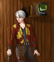 Steampunk Victor by AmatsuM