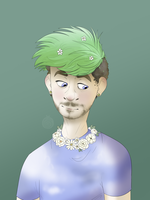 Summer meadow Jacksepticeye by ValorousKid