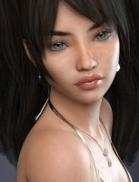 P3D Angel HD for Genesis 3 Female by P3DesignPromotions
