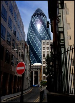 The Gherkin by DarcRose22