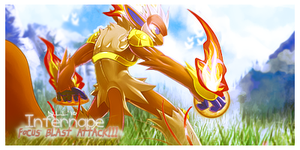 Infernape F.B.A by Xrift
