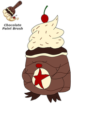 Chocolate Poppy (Neopets Paintbrush) by RichardtheDarkBoy29