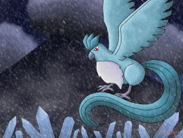 Icicle Articuno by Rose-Beuty