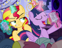 Rebecca Shoichet / Twi and Sunset Autograph Card by PixelKitties