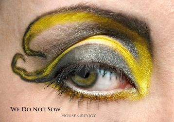 Game of Thrones: House Greyjoy makeup II by TheRaven1988