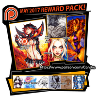 Patreon May Rewards by Candra