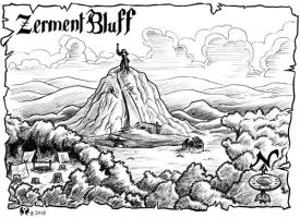Zerment Bluff by artikid