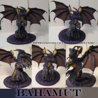 Final Fantasy VII Bahamut Pony by AnimeAmy