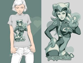 Pepperfella Tee Promo by Artgerm