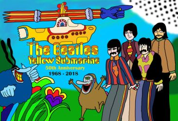 The Beatles - Yellow Submarine - 50th Anniversary by LewisDaviesPictures