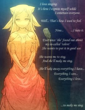 Drawn with Me: To Sing by Mikeinel