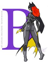 B is for Batgirl by Inspector97