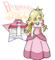 Princess Peach Complete by Miss-Interocitor