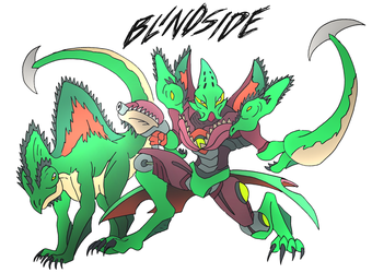 Blindside- Beast Wars Future by NickOnPlanetRipple