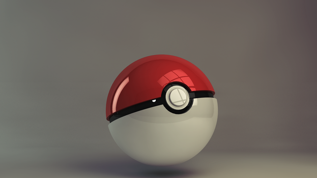 pokeball by afaikars