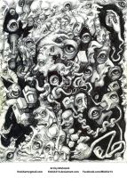 Distorted Faces by kmish213