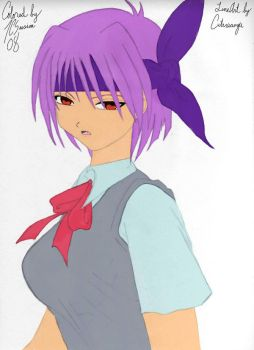 Ayane Colored by JCSession