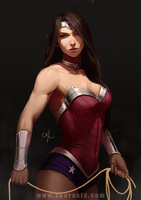 Wonder Woman by SourAcid
