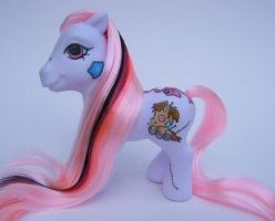 OOAK MLP Custom Stitch by eponyart