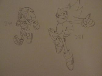 Sonic Sketches: 5 by SonicWindAttack