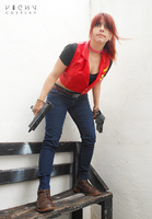 Claire Redfield - Back to the action by CodeClaire