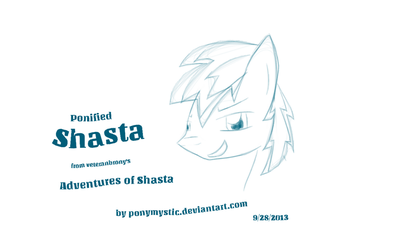 Ponified Shasta by PonyMystic
