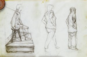 A couple of sketches.. by Rodrigo-Vega
