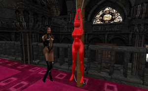 Red Encasement 8 by LadyVampofDarkness