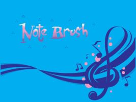 Music Note Brush by Lisa99