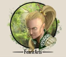 Elf of the forest by Fenrir--the-2nd