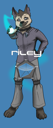 INSTINCT Fighter No.6: Riley by tealfoxy
