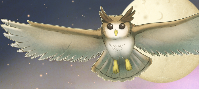 Owl Bookmark -Free To Use- by ShimmiDragon