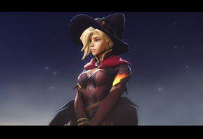 Merciful Witch by Entertain3r