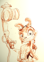 Daxter Sketch by JLManzano