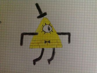 Bill Cipher by Germanantasma
