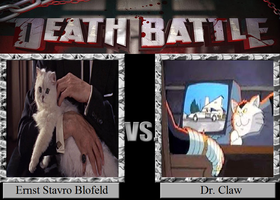 Ernst Stavro Blofeld vs. Dr. Claw by JasonPictures
