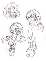 Shade and Nestor sketches by ThePandamis