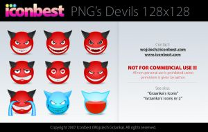 PNG Devil Icons by Iconbest by voogee