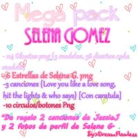 Mega Pack Selena Gomez by Dreamflawless