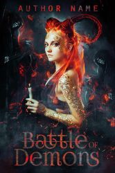 Fantasy Book Cover - Battle of Demons by roltirirang