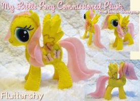 MLP Plush Fluttershy Take 2 by Bon-Bon-Bunny