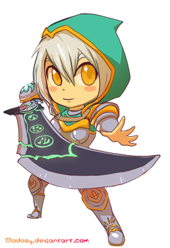 Redeemed Riven by Gladosy