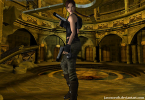 XNALara - Tomb Raider Angel of Darkness HOS by JasonCroft
