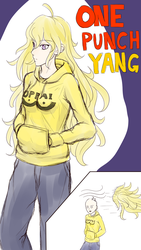 One-Punch Yang by Madgamer2k7