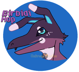 Birbidi Hop Headshot by UmbreonStudios