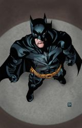 The Dark Knight by mike-mcgee