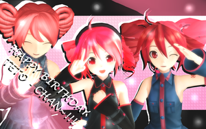 Happy (late) Birthday Teto chan!!!! by Vocalizer
