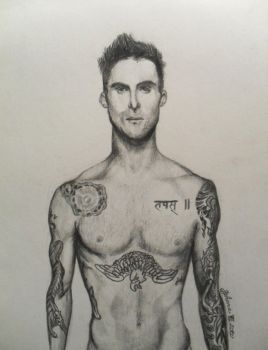 Adam Levine by JohanaJ