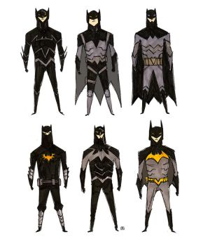 Batman Designs by darrenrawlings